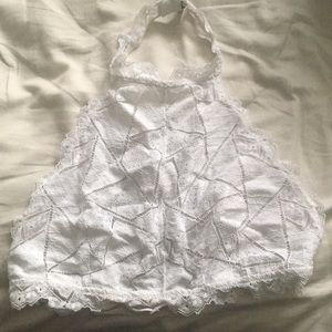 Free People Intimates High Neck Geometric Bralette